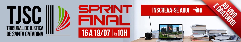 16 A 22/07 - SPRINT FINAL TJ SC
