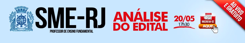 Análise do Edital SME-RJ
