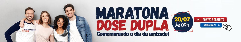 Maratona dia da Amizade!
