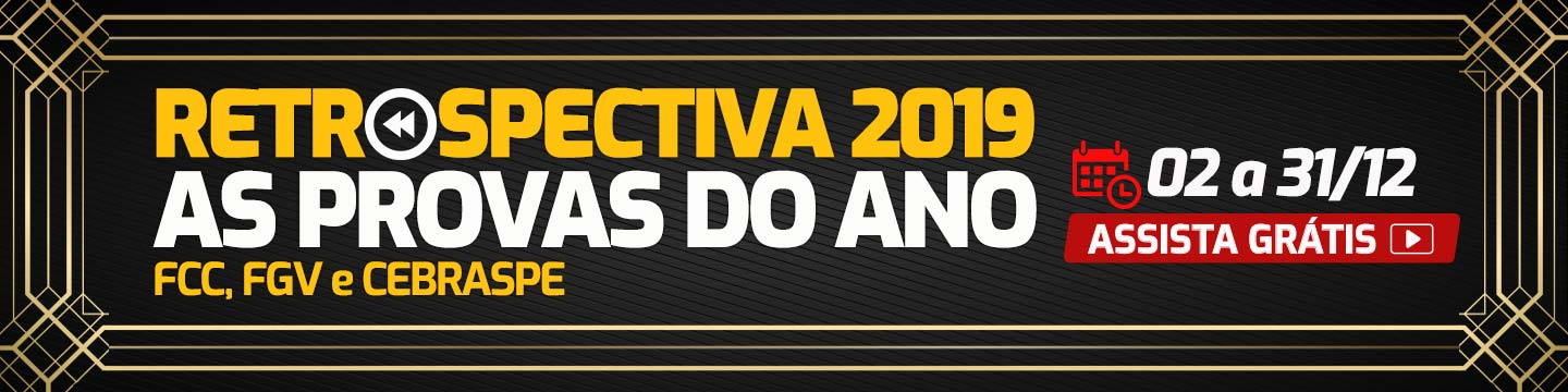 Retrospectiva 2019 – As provas do ano